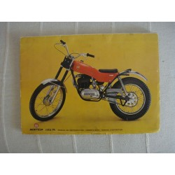 "MANUAL DE INSTRUCCIONES Y DESPIECE MONTESA COTA 74 ""ORIGINAL"""