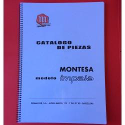 MONTESA IMPALA CATALOGO DE PIEZAS,  DESPIECE -COPIA DEL ORIGINAL