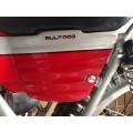 Bultaco Sherpa T, Alpina, Lobito y otras. Juego tornillos sujecion lateral deposito gasolina